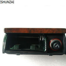 CHEAHUNZAI для VW Passat B5 вишневая деревянная пепельница для автомобиля деревянная внутренняя Передняя мусорная корзина из красного дерева пепельница для сигарет 3B0 857 961