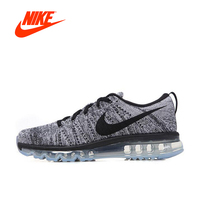 Original New Arrival Official Authentic NIKE Flyknit Men's Breathable Running Shoes Sports Sneakers Comfortable Breathable