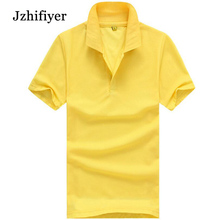 цена Factory Large Stock Fashion Cotton Polyester Pique Mesh Fabric 220G Blank Men Polo