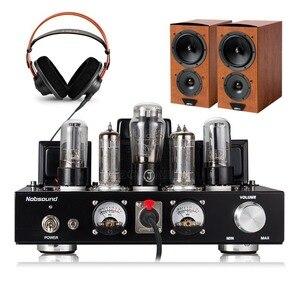 Image 3 - Nobsound Handmade HiFi 6P1 rura próżniowa zintegrowany wzmacniacz Stereo Single ended wzmacniacz słuchawkowy klasy A czarny