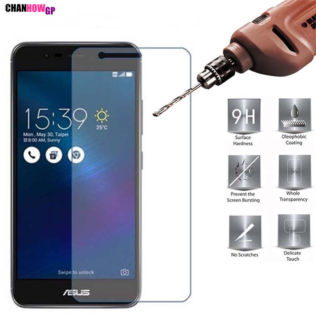 9H Tempered Glass For Asus Zenfone 3 Max ZC520TL X008D X008 Pegasus 3 Glass Screen Protector Front Protective Guard Coque Funda