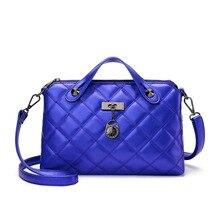 De las mujeres de Moda Simples bolsas de Hombro Crossbody Bolsas de Mensajero Famosa Marca de Diseño de Época Clásica Rejilla Ling Bolsa de la Cadena de 4 colores