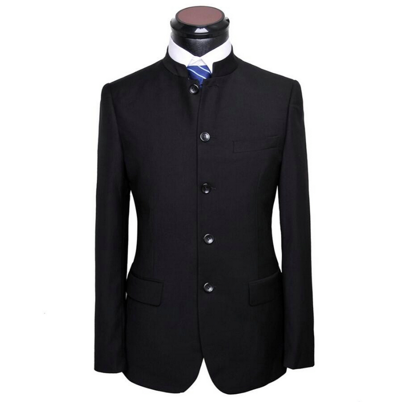 Custom Made Men Chinese Tunic Suit Jacket New Arrival Fashion Formal High Quality Blazer Suits For Men Suit Jacket