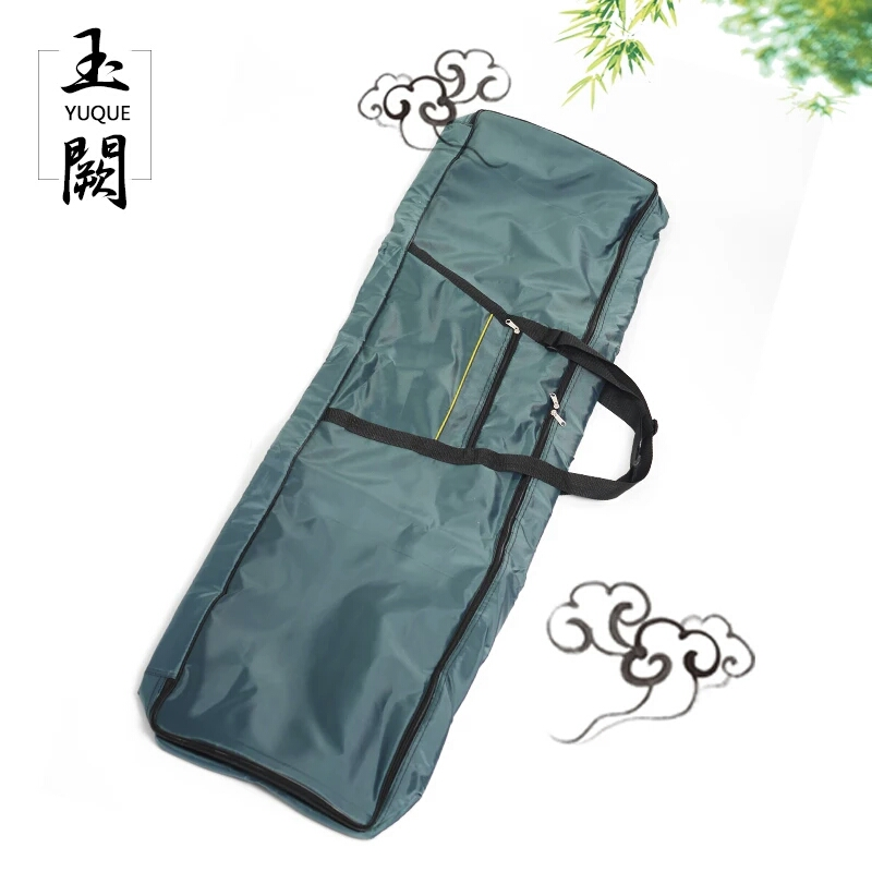 Yuque Guzheng Protective Carring Case / Portable Guzheng Bag / Case Cover For Guzheng Travel Bag Green Color