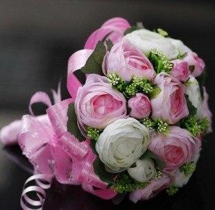 20 rose wedding bouquet artificial flower wedding flowers bridal 20 rose wedding bouquet artificial flower wedding flowers bridal bouquet pink white mightylinksfo