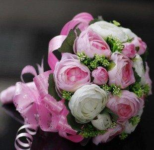 20 Rose, Wedding Bouquet, artificial flower Wedding flowers Bridal ...