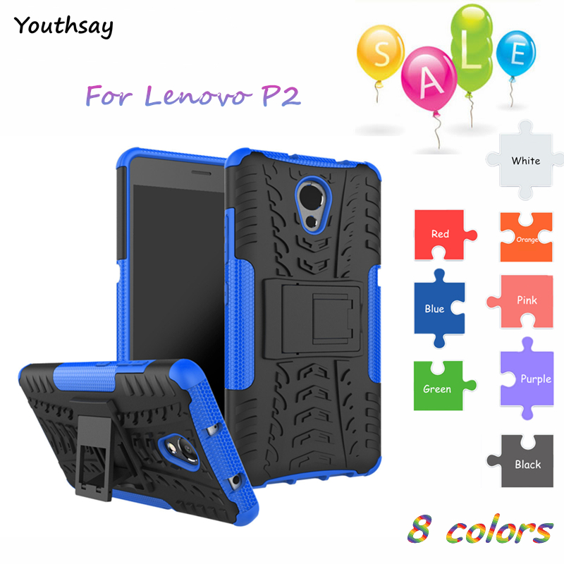 Youthsay For Cover Case Lenovo P2 Shockproof Silicone Armor Coque Vibe 5.5 P2A42