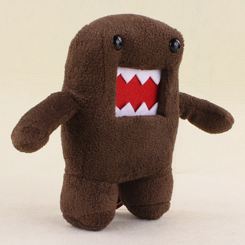 17cm Cute Domo Kun plush stuffed doll toys children novelty item creative gift For girls Gifts japan domo kun creative kawaii plush toys domokun film cartoon plush stuffed doll baby infant child toys birthday xmas gift dash