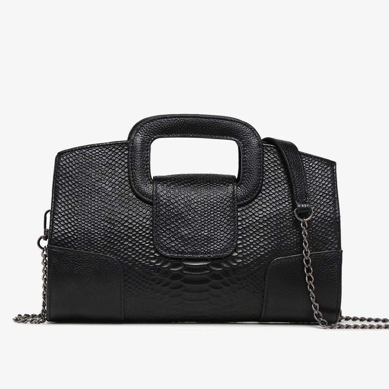 genuine leather bags for women messenger shoulder bags female handbags with snake pattern designer tote bag high quality