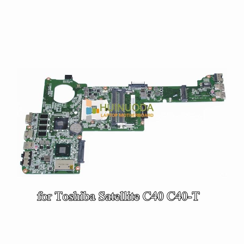 DA0MTCMB8G0 A000239480 For Toshiba satellite C40 C40 T font b laptop b font motherboard GeForce GT710M