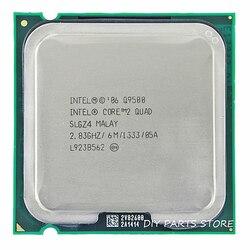 إنتل الأساسية 2 رباعية Q9500 المقبس LGA 775 معالج وحدة المعالجة المركزية 2.8 Ghz/6 M/1333 GHz