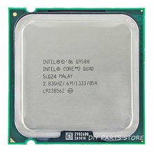 INTEL Core 2 Quad Q9500 Socket LGA 775 CPU procesador 2,8 Ghz/6M /1333GHz