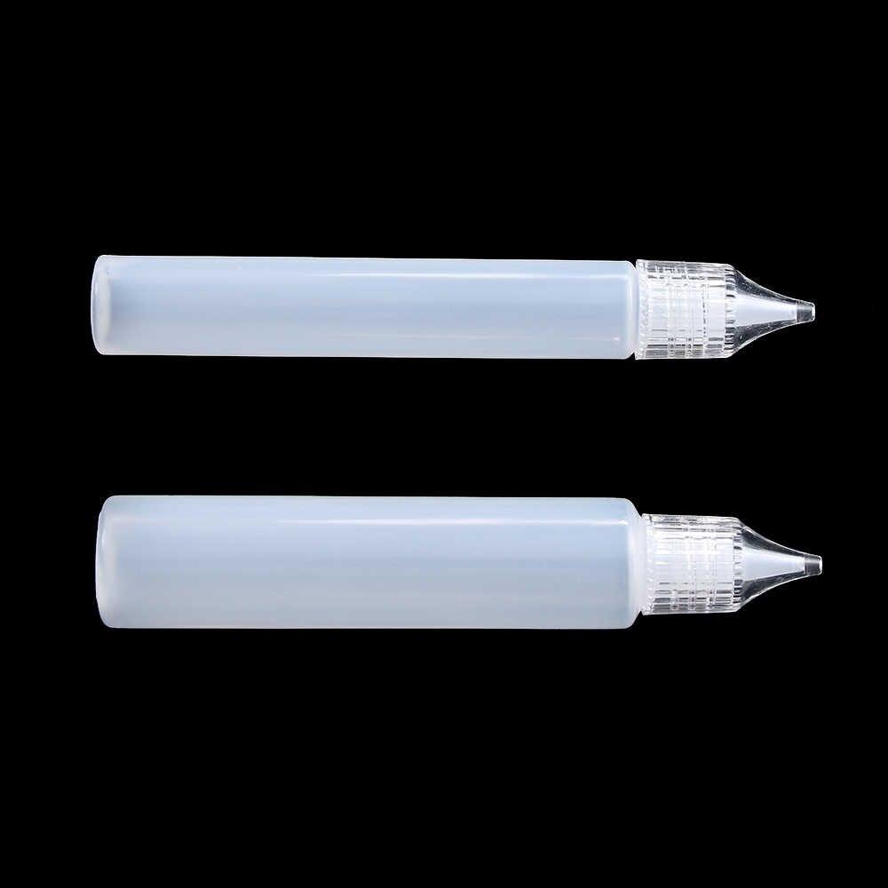 2/5PCS ניו שימוש חוזר פלסטיק דבק המוליך מחט לסחוט בקבוק עבור נייר DIY רעיונות נייר פלסטיק בקבוק קרפט כלי