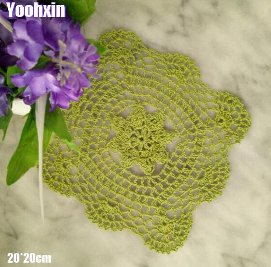 Kitchen,dining & Bar Home & Garden Inventive Modern Lace Cotton Table Place Mat Pad Cloth Crochet Coffee Pan Placemat Cup Mug Wedding Tea Dish Coaster Handmade Doily Kitchen To Suit The PeopleS Convenience