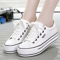 2016  spring fashion women canvas shoes, tide high-end shoes to help increase casual shoes b2