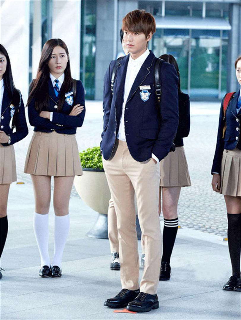 New EnglandBritish College Style Students Wear Korean Suit Uniforms Men And Women Class Uniforms Who Inherited The Same Suit