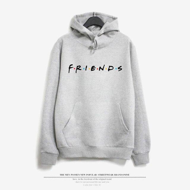c3ea4e36de Friends Tv Shows hoodies Sweatshirt women Harajuku print tops hooded  pullovers Tumblr Jumper bff streetwear casual Tracksuit