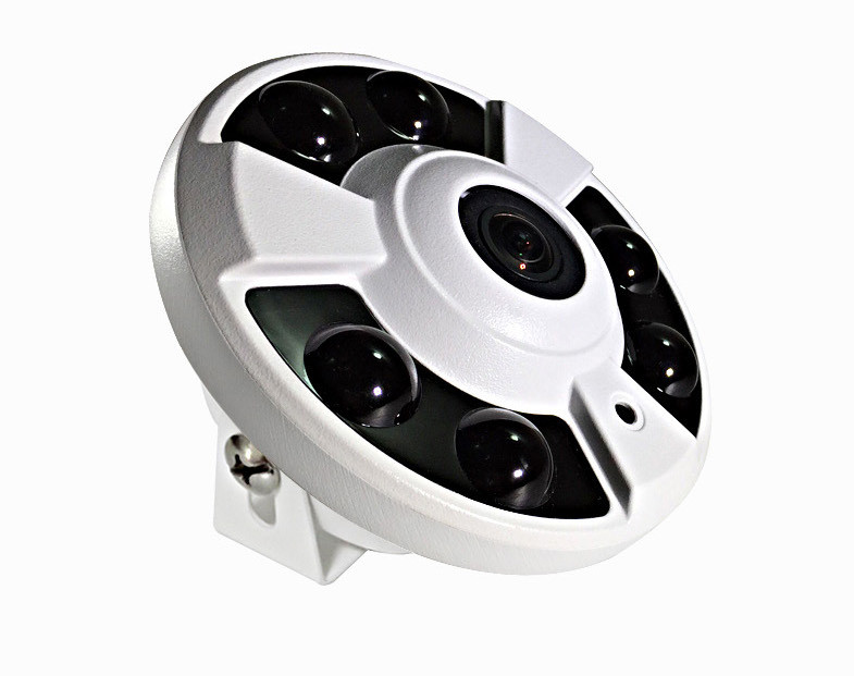2016 CMOS Сенсор HD 1080 P 2.0mp 360 градусов рыбий глаз ip видеонаблюдения купольная Камера 1.2 мм объектив оборудование для наблюдения Применение В мага... - 2