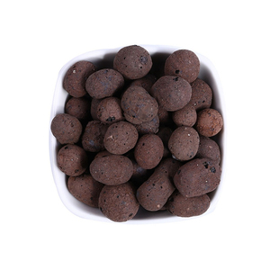 100g Organic Expanded Clay Pebbles Grow Media Orchids Hydroponics Aquaculture Garden Flowers Planting The Soil Seed Plant Tool(China)