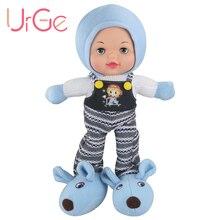 Призываем 45 cm мультфильм Fashion кукла плюшевые игрушки мягкие силиконовые Face куклы-младенцы Reborn игрушки для детей на день рождения Рождественский подарок