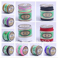Free Ship! 150M High Quality Mix Colour Beading Shamballa Cord Rope Nylon 1.5mm Rope for Shamballa Bracelet(W03100-w03019)