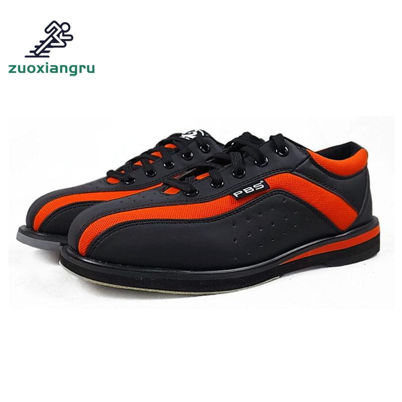 2018 Black Red Bowling Shoes Unisex Essential Beginners With Sports Shoes High Quality Couple Models Men Women Sneakers special men women bowling shoes couple models sports shoes breathable slip training shoes