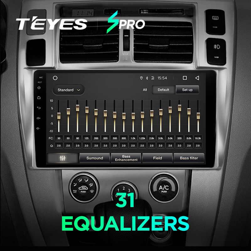 TEYES SPRO samochodu multimedia radiowe nr 2 din android odtwarzacz wideo nawigacja gps dla Hyundai Tucson 1 2004-2009