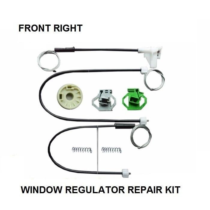 CAR WINDOW CLIPS KIT FOR SEAT IBIZA MK II WINDOW REGULATOR
