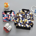 New spring casual Baby Boys Cotton Children's Camouflage sports Jackets zipper Cardigan Outwear Coats Y2070