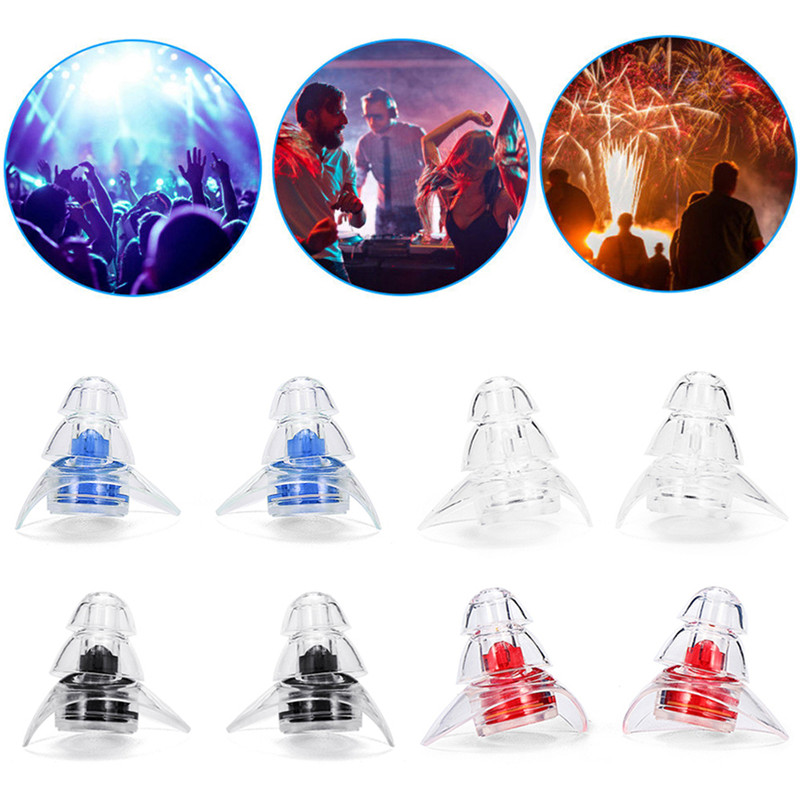 1 Pair Soft Silicone Ear Plugs Sound Insulation Ear Protection Earplugs Anti Noise Snoring Sleeping Plugs For Noise Reduction 3