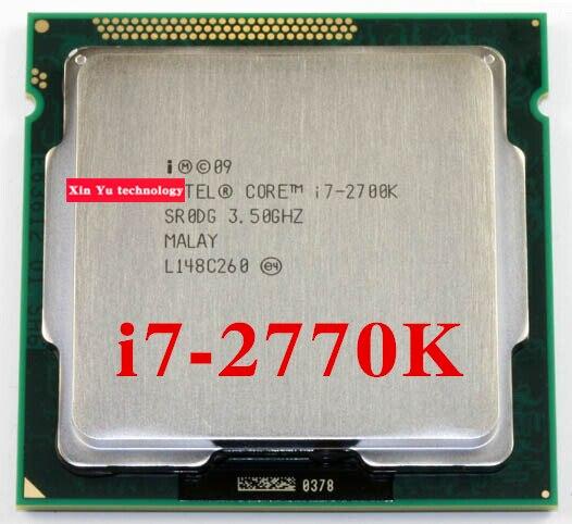Core i7 2700 K 3.5 GHz 8 M SR0DG Quad Core ocho hilos procesadores de escritorio de la segunda mano  Se entrega en toda España