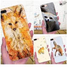 Soft Silicone TPU Transparent Coque Case Fox Animal For Galaxy J1 J2 J3 J330 J4 J5 J6 J7 J730 J8 2015 2016 2017 2018 mini Pro(China)