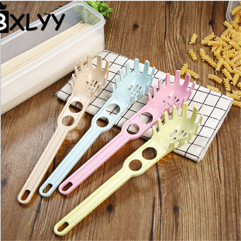 BXLYY Wheat Straw Multi-function Spaghetti Spoon Eggs Egg White Separator Measuring Spoon Kitchen Accessories Cooking Gadgets.7z image
