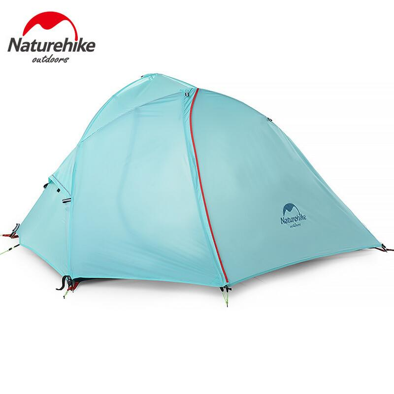 Naturehike Ultralight Folding 1-2 person tent Fishing Hiking hunting waterproof outdoor camping tourist tent Camping equipment outdoor waterproof folding ultralight camping tent 1 2 person double door fishing tourist tent beach tent hiking family tent