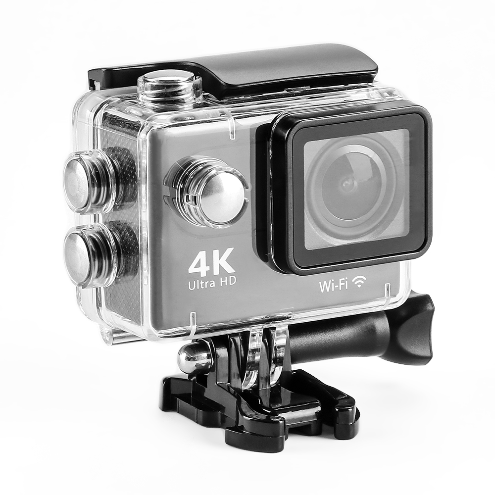 ET H9 4K HD Wifi Camera Waterproof 170 Degree Wide Angle Camera Action Camcorder 1080P Portable Sport DVR DV Cam 2 Inches Screen