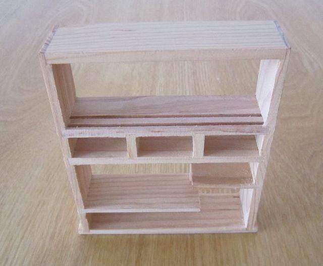 Antieke meubels rustieke plank model craft decoratie mini meubels