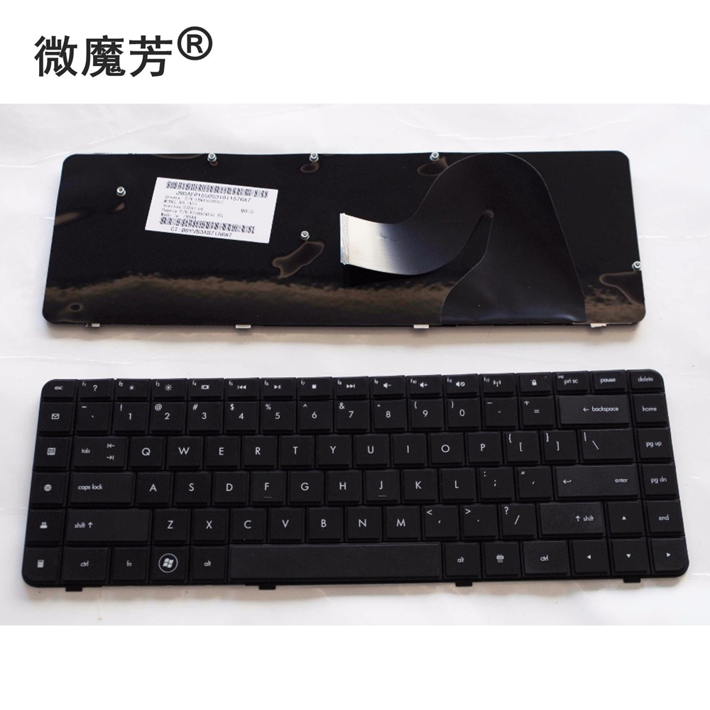 English keyboard FOR HP CQ62 G62 CQ56 G56 For Compaq 56 62 G56 G62 CQ62 CQ56 CQ56-100 US Laptop Keyboard цена