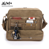 Hot High Quality Multifunction Men Canvas Bag Casual Travel Bolsa Masculina Men S Crossbody Bag Men