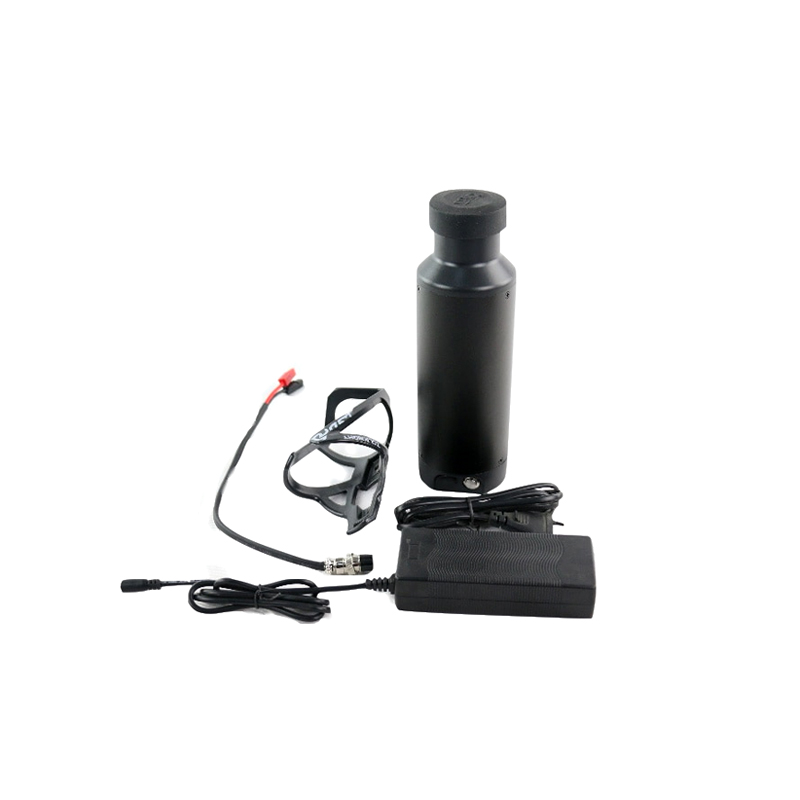 36V 7Ah /10Ah /10.5Ah E Bike lithium Battery Newest small mini water bottle Battery with USB for 500W motor