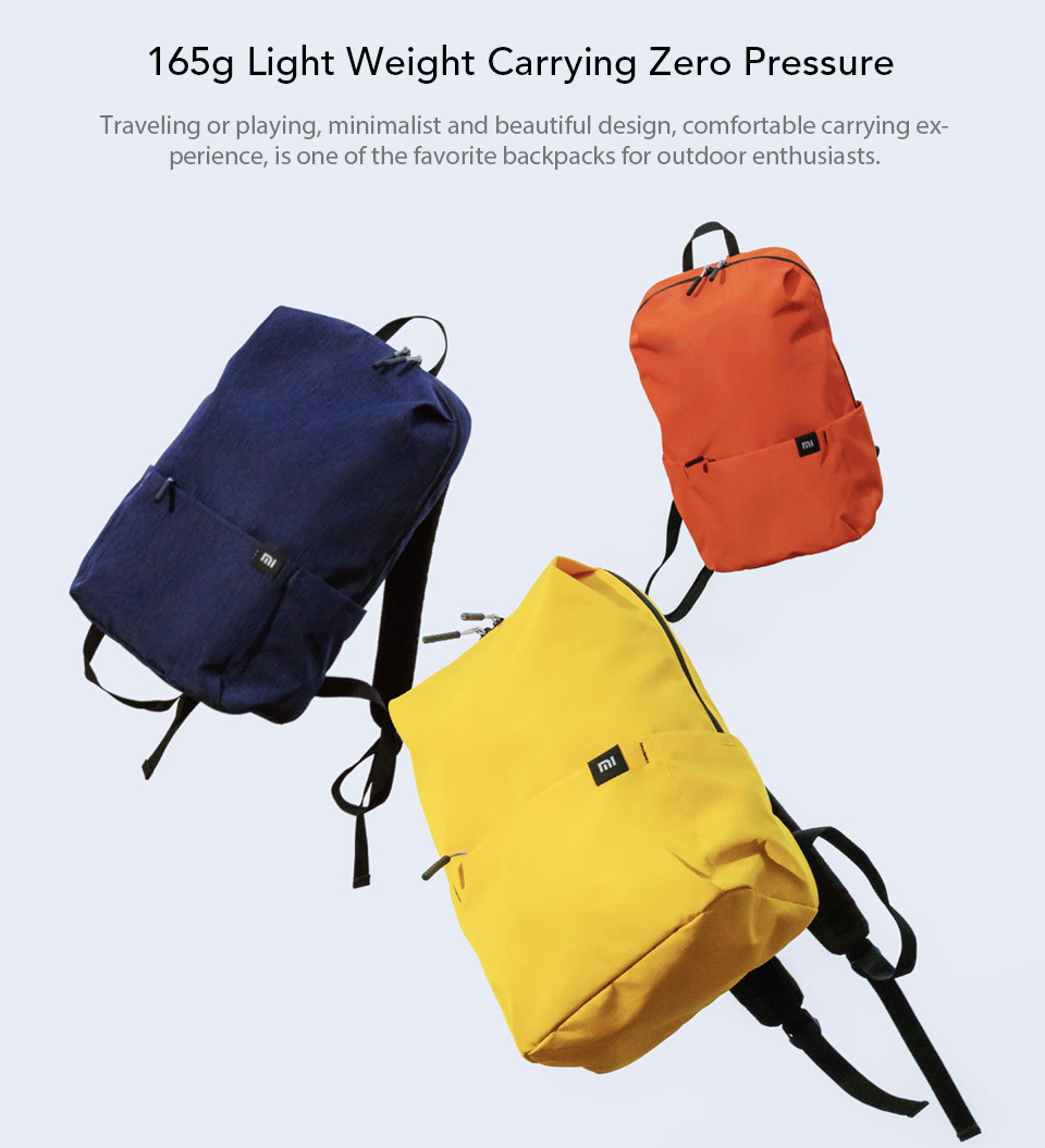 Original Xiaomi 10L Backpack Bag Colorful Leisure Sports Chest Pack Bags Unisex For Mens Women Travel Camping (4)