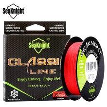 SeaKnight Classic 500M Braided Fishing Line 4 Strand PE Line Braid Multifilament Fishing Line Rope Carp Fishing 8 10 20 40 80LB