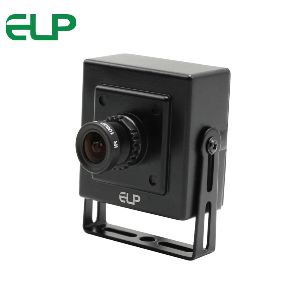 ELP CCTV Cmos 700tvl Black indoor surveillance mini Home Security video camera with 3.6mm lens