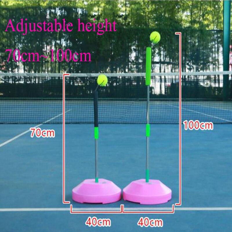 Tennis Trainer Self study Tool Outdoor Sports Raquete Practice Training Machine Padel Balls Accessories Men Women