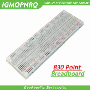 Breadboard 830 Point Solderless PCB Bread Board MB-102 MB102 Test Develop DIY 830 hole