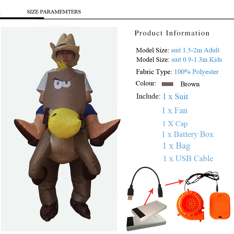 40 To 50 Inch Tall Kids Gift Animal Halloween Costume For Kids