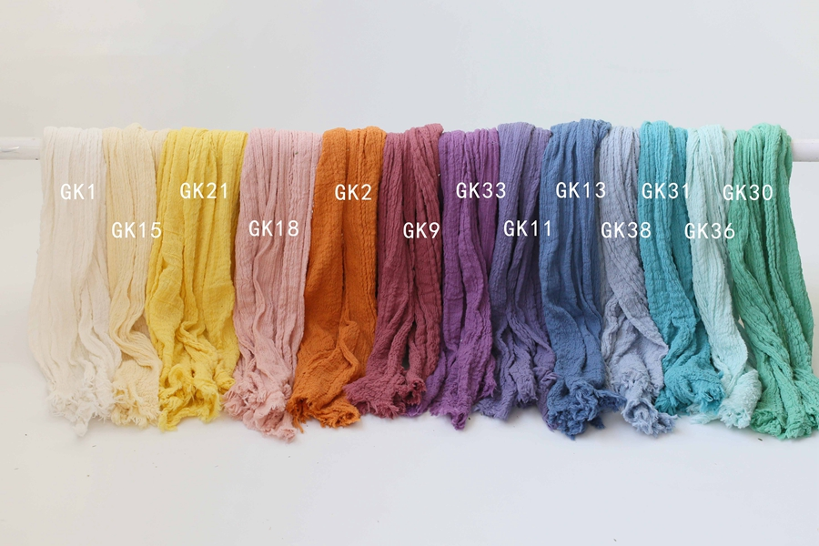 Baby Photo Props Cheesecloth Wrap For Newborn Photography,Baby Posing Swaddling Wraps Stretch Newborn Blanket, #P2413