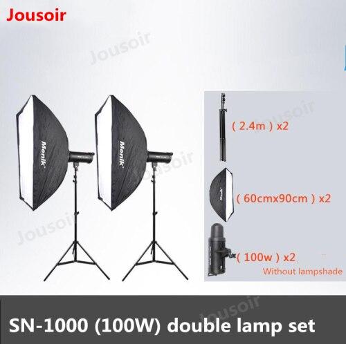 Actief Sn Serie High Power Led Fotografie Licht Voortdurend Lit Portret Kind Schieten Licht Twee Licht Kit 100 W, 150 W, 200 W Cd50 T08