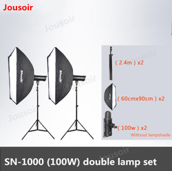 SN series high power LED photography light constantly lit portrait child shooting light two light kit  100W, 150W, 200W CD50 T08