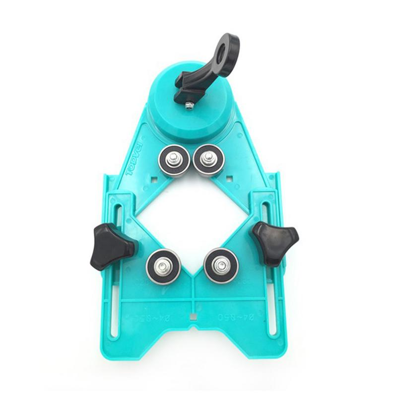 Tile Punch Locator 4-80MM Glass Marble Perforated Hole Fixer Rubber Suction Cup Tile Locator Perforated Hole Tool