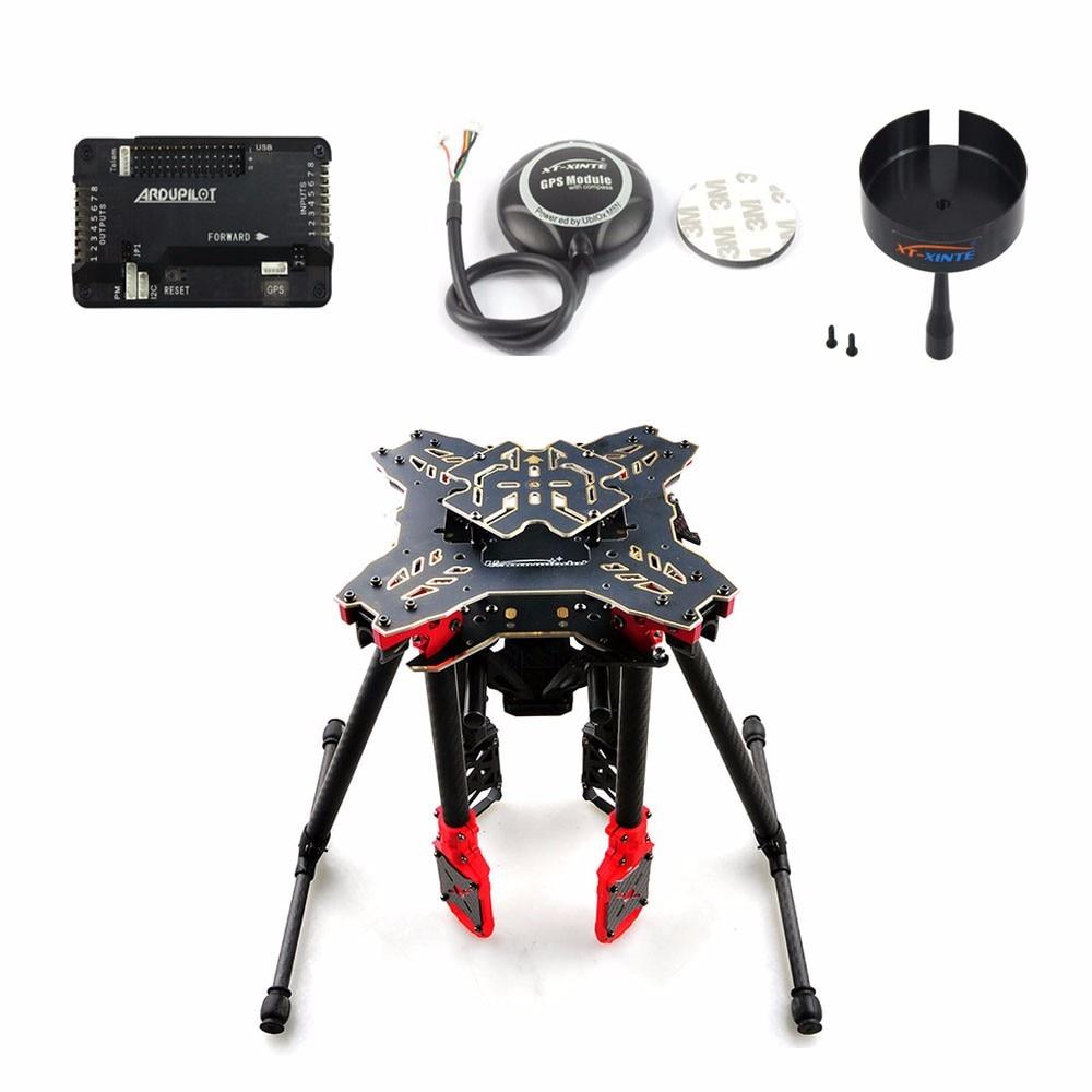 JMT DIY GPS Drone RC Quadcopter HMF U580 Totem Series APM2.8 Flight Control 700KV Motor 30A ESC Radiolink AT10 TX&RX Full Set
